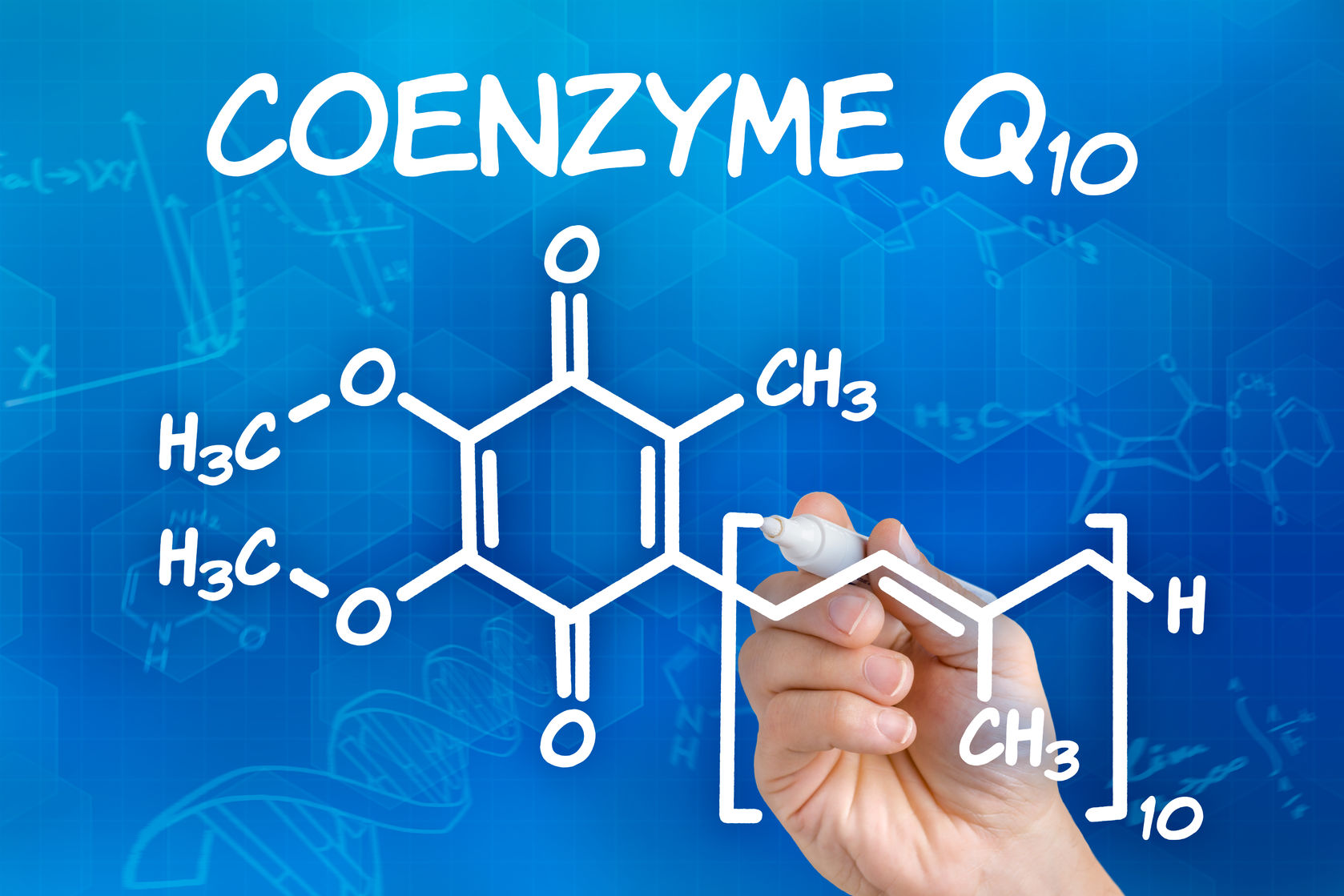 coenzyme Q10 increases levels of your body's antioxidants