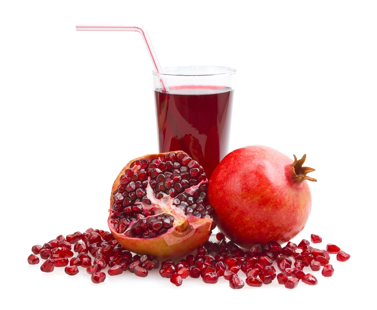 pomegranate juice prevents free radical damage from exercise and improves recovery time